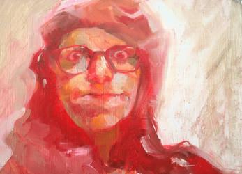 Self Portraits in Pink Pimps Coat. 2020