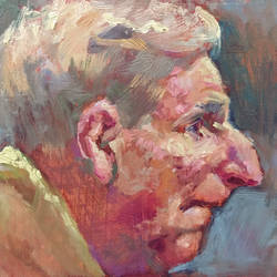 Study of an Old Man. 2020