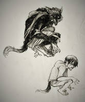 Werewolf - Before and After