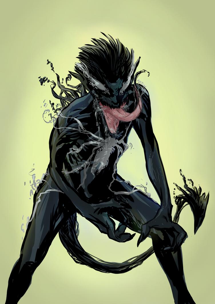Symbiote Nightcrawler Thing by MonoFlax on DeviantArt
