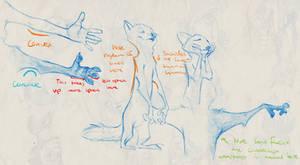 Tips for Drawing Zootopian Anthropomorphic Anatomy