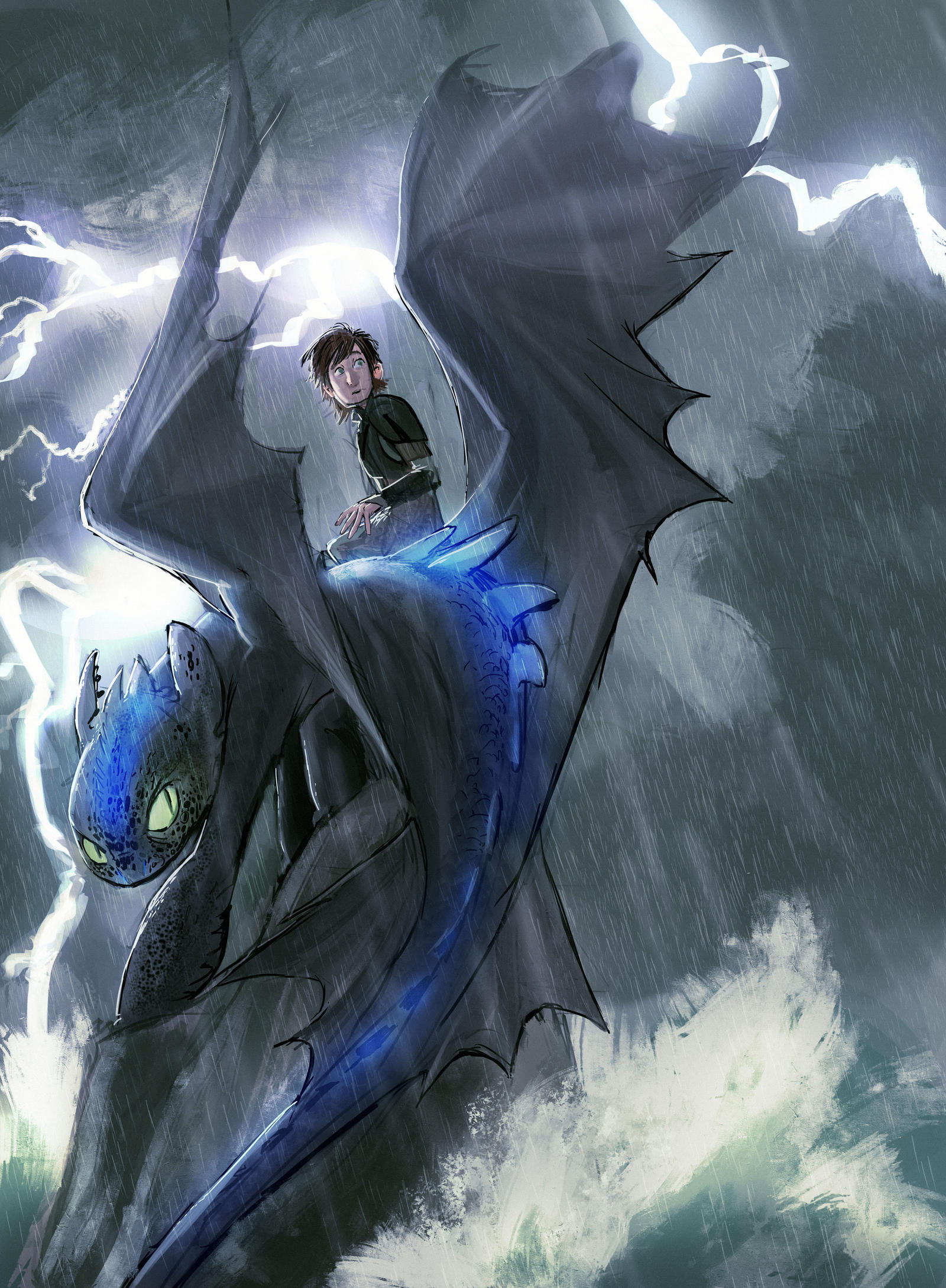 school of dragons how to get alpha toothless
