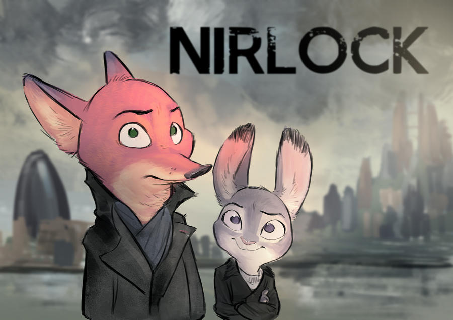 Comic: Nirlock | A Spoor in Scarlet | Chapter 1: Rabbiting (by MonoFlax)