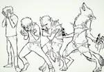 Werewolf TF!