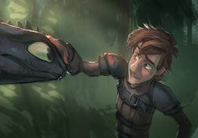 HTTYD3 Sketch by MonoFlax