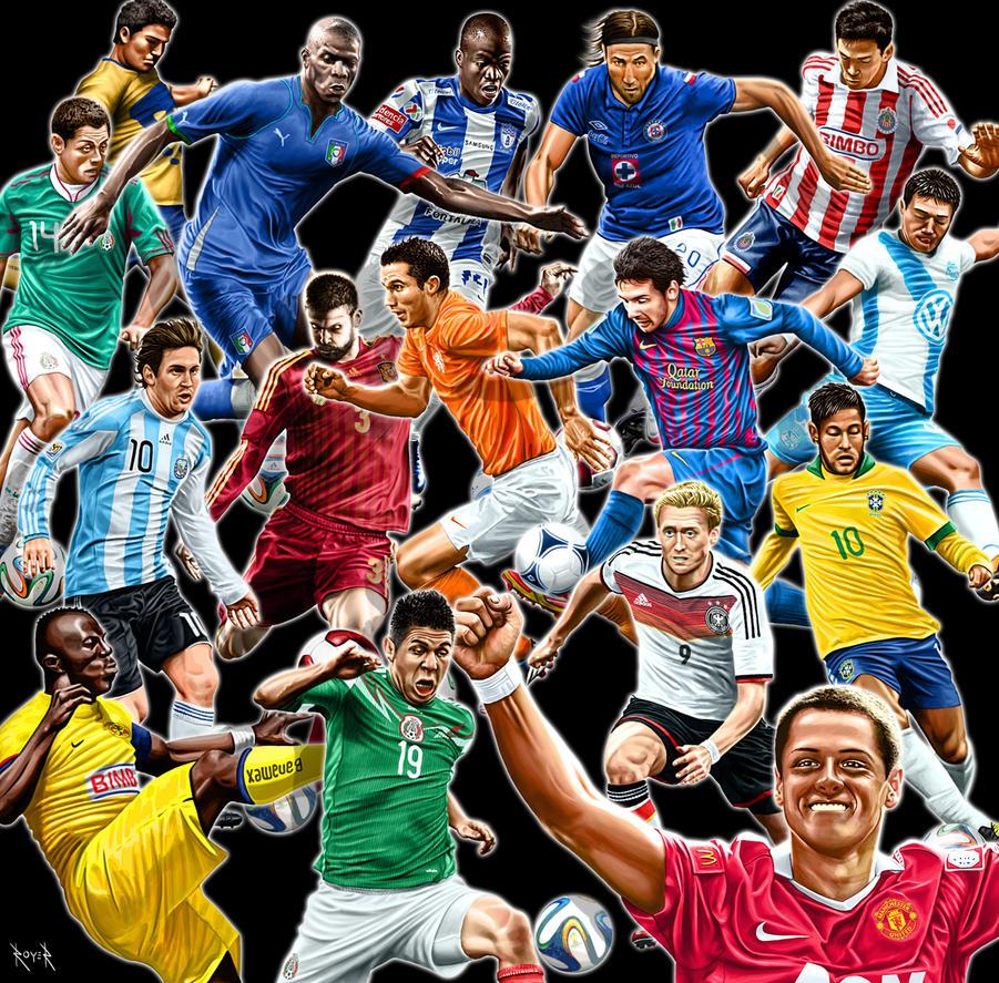 Ilustraciones deportivas by elroyer