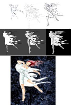 Proceso de figura humana