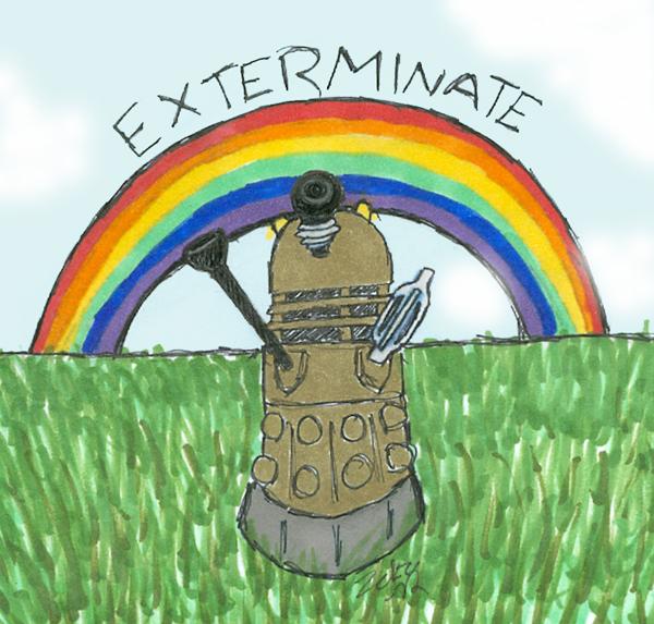 Exterminating the rainbow~
