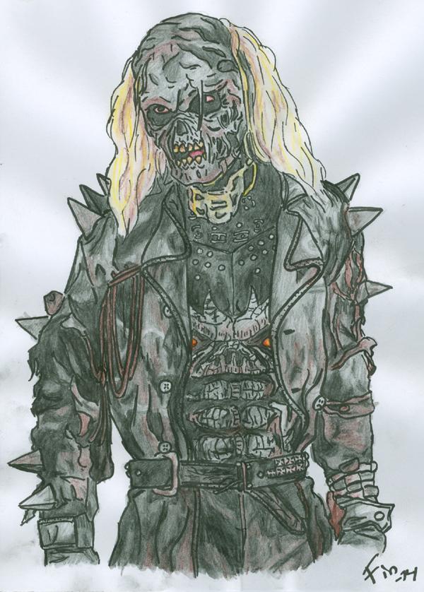 The undead biker