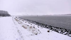 Winter landscape by StockSaphitri