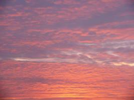 Sunset Sky I by StockSaphitri