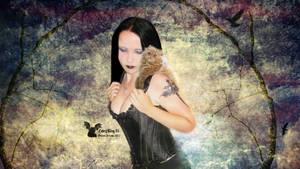 GOTHIC DARK GIRL by FABRYKING61