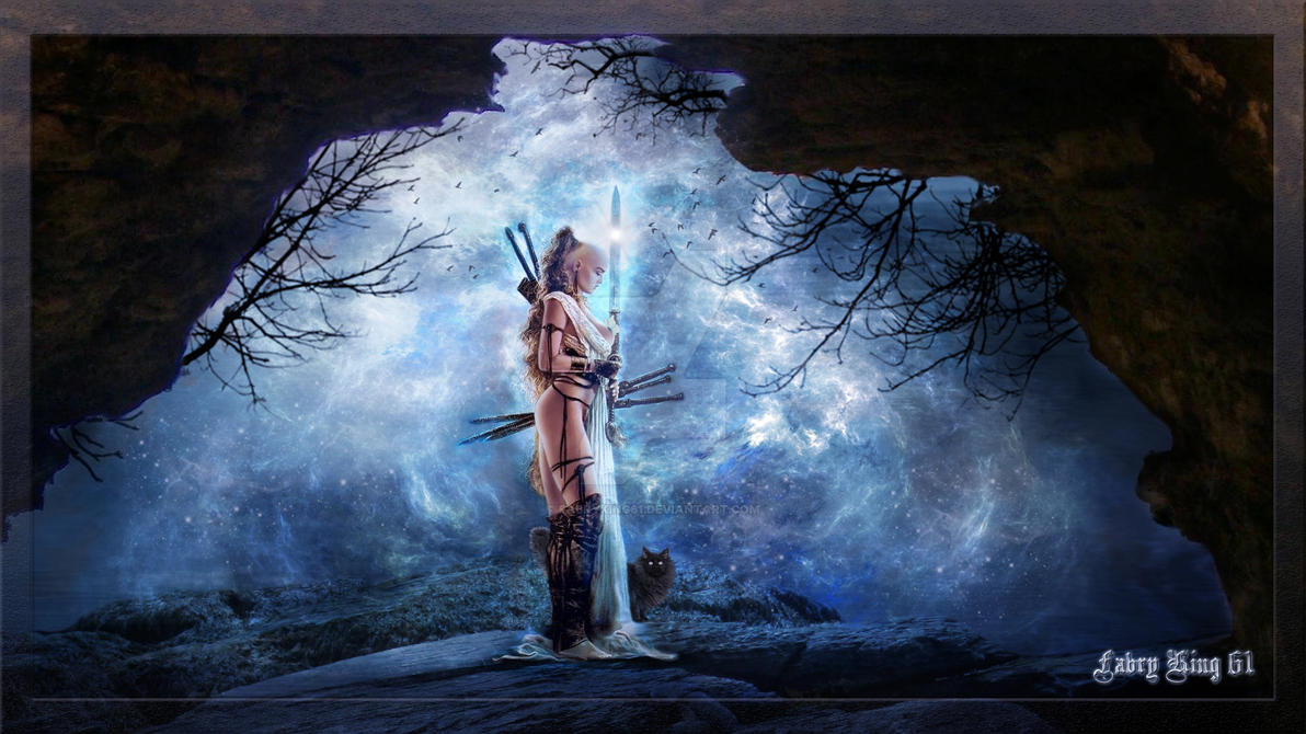 Luis Royo Warrior  Woman Full HD by FABRYKING61