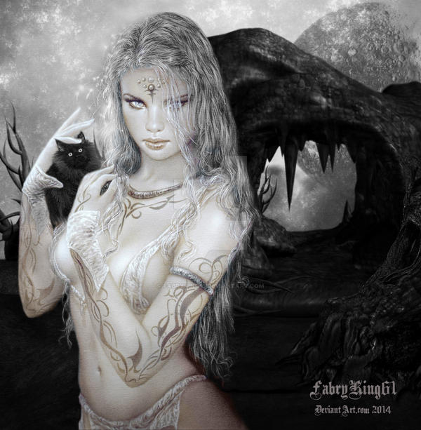 Tribute a Luis Royo 3 by FABRYKING61