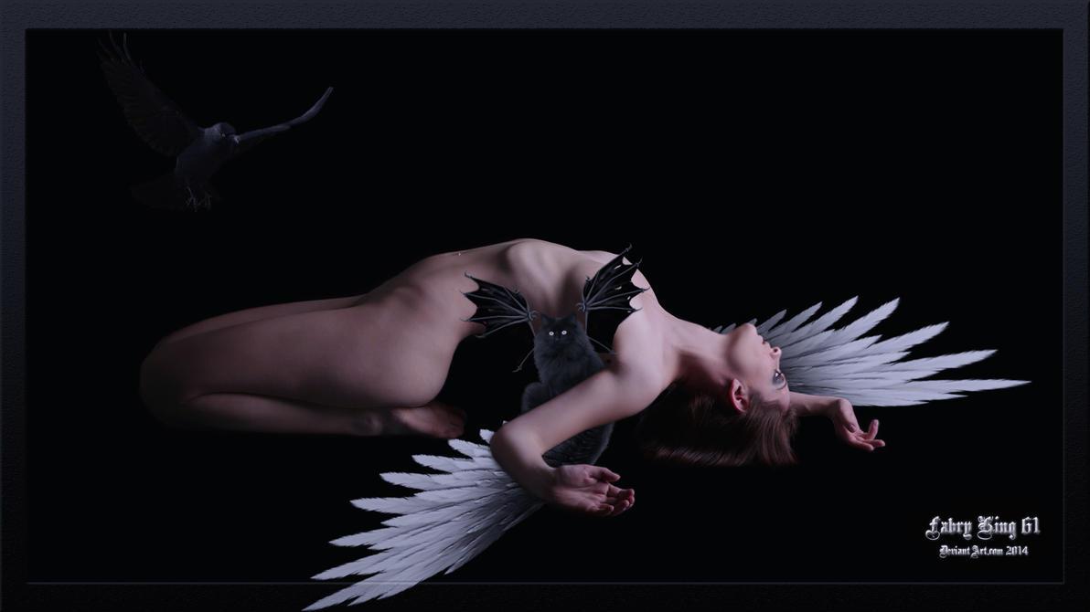 Angel Dark 1920x1080 by FABRYKING61