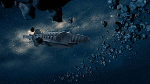 Interstellar Space background 3840x2160 HD by FABRYKING61