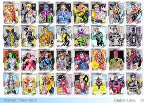 Marvel Fleer retro cards 01
