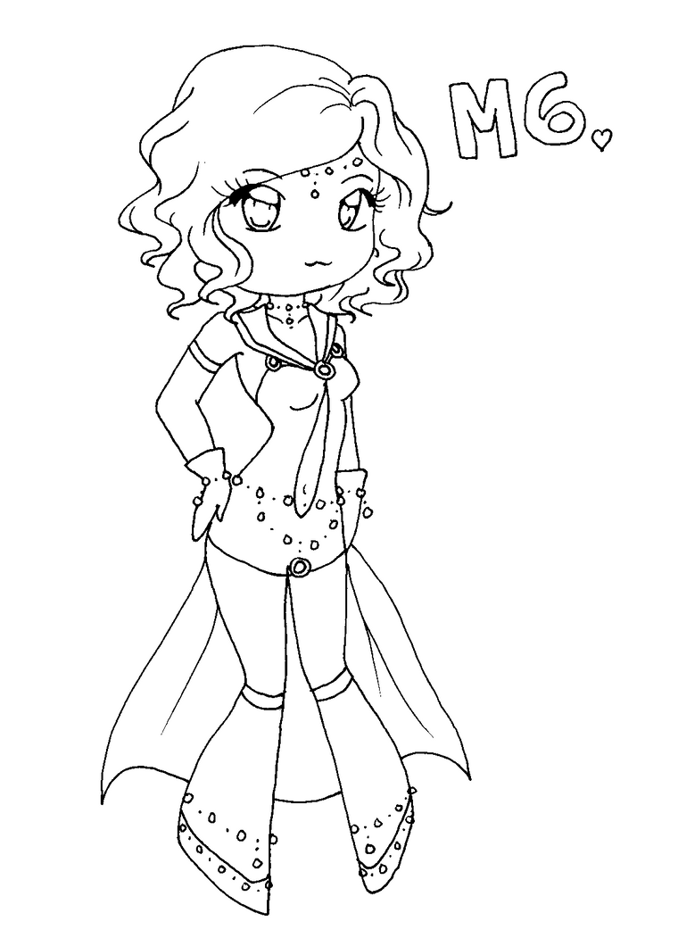 Chibi messier 6 coloring page by pandanalove on deviantart for Coloring pages anime chibi