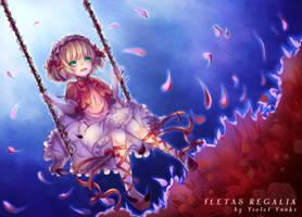 Let's play again next time- Fletas Regalia by VioletYuuki