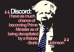 Boris Johnson by FillTheFrame