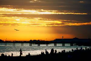 Brighton  Beach by FillTheFrame