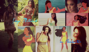 Shay Mitchell as Pocahantas1 by Scarletteileen