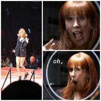 Taylor Swift's impression of Donna Noble