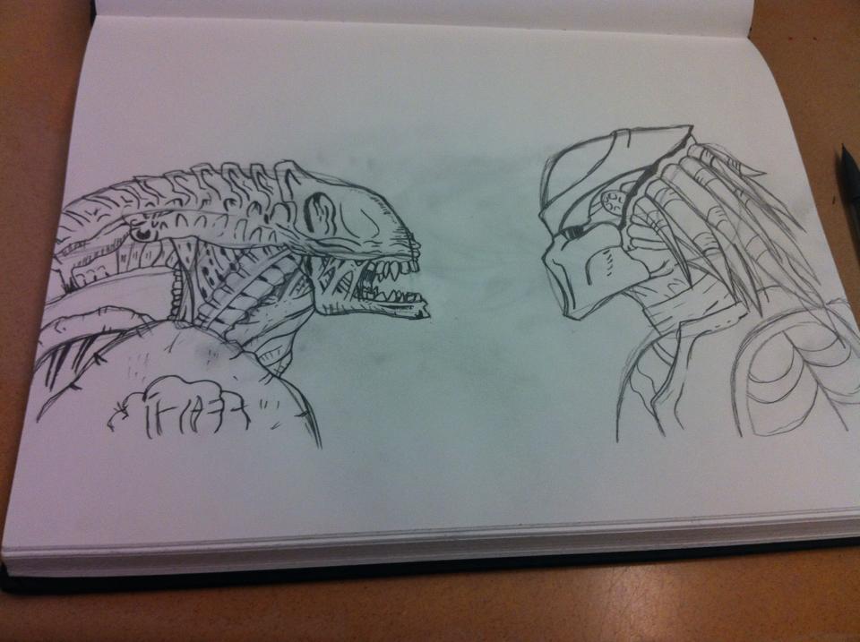 Alien VS Predator by GirRox211