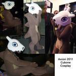 Cubone Cosplay 2011