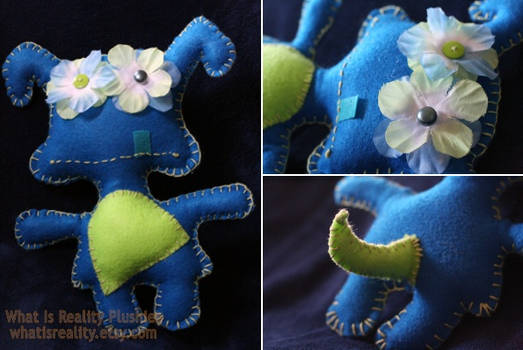 Jowls Flower Bright Monster Plush