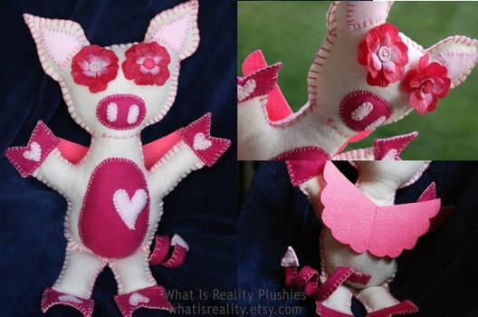 Mojdeh's Custom Alien Piglet Plushie