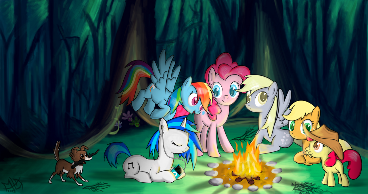 Forest picnic by MyLittleArts
