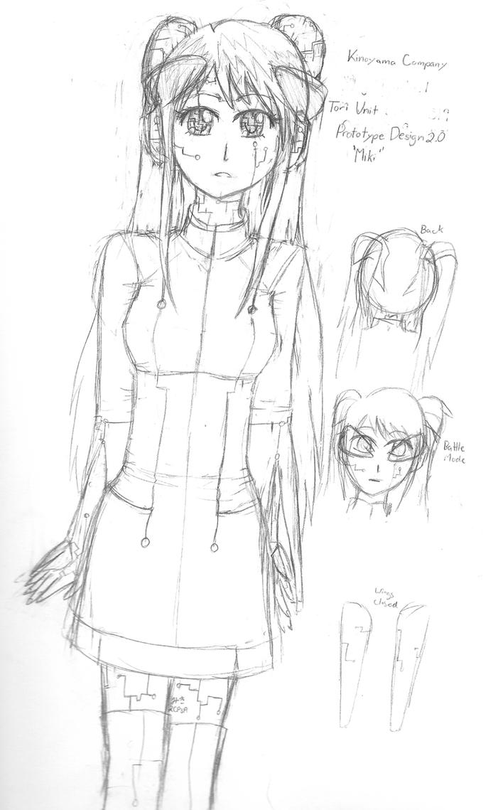 robot girl  u0026 39 miki u0026 39  by hikuishoujo623 on deviantart