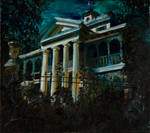 Haunted Mansion Painting