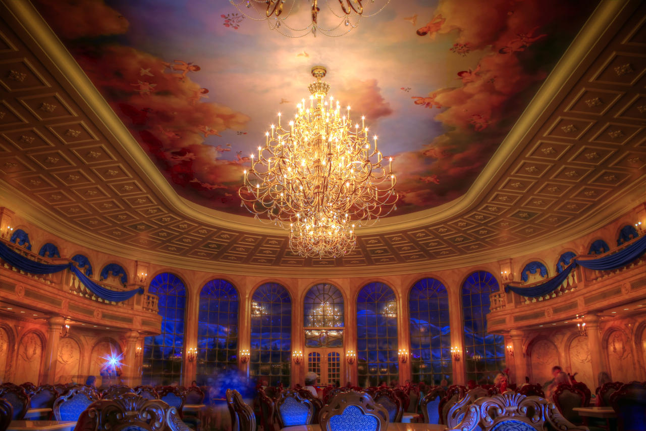 Be Our Guest Restaurant Ballroom by yensidtlaw1969