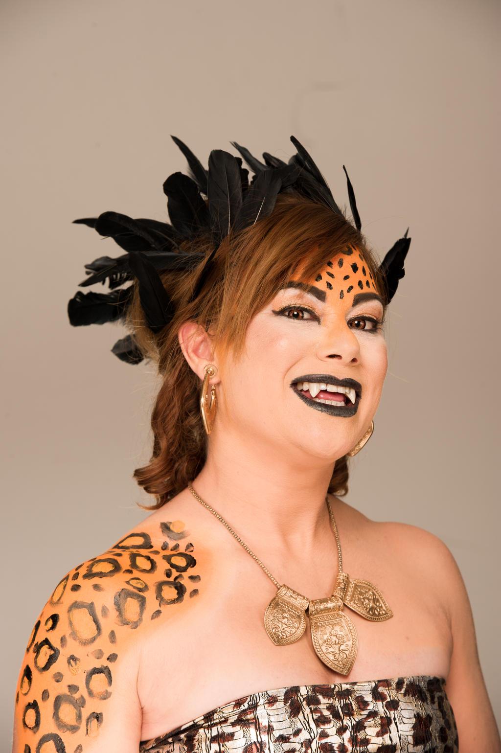 Jaguar Goddess by punkd-pyroshadow