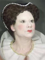 Elizabethan Make-Up by punkd-pyroshadow