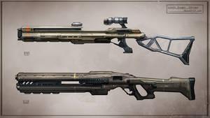 Sand Rider Rifles concept