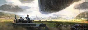 Convoy landscape
