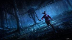 Forest demon by Javoraj