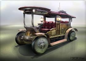 Fantasy Vehicle by Javoraj