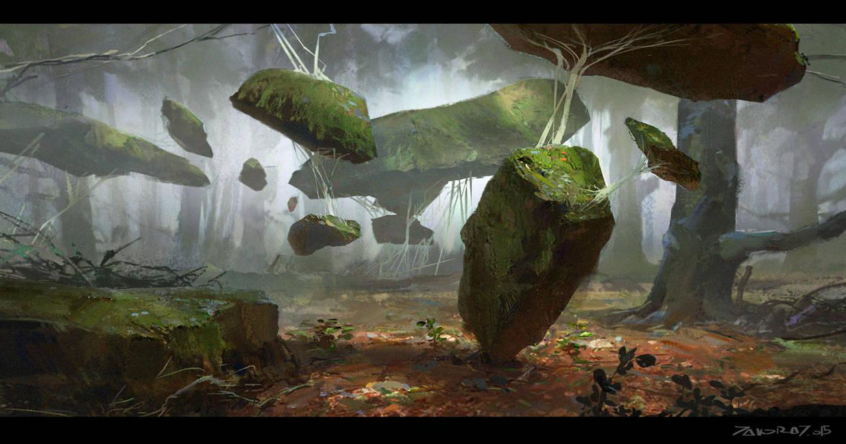 Lifted Stones by Javoraj