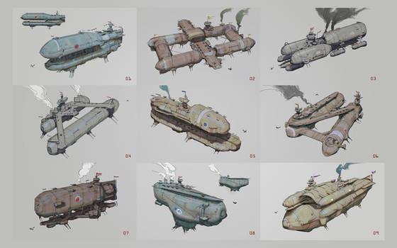 New Zeppelin Skethces