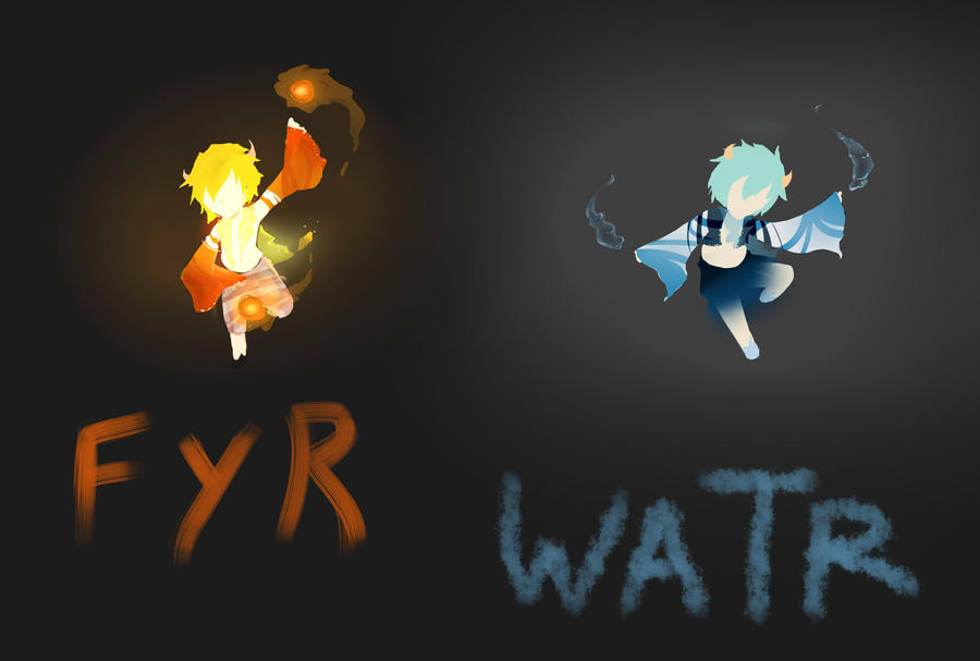 Fyr and Watr by buchi96