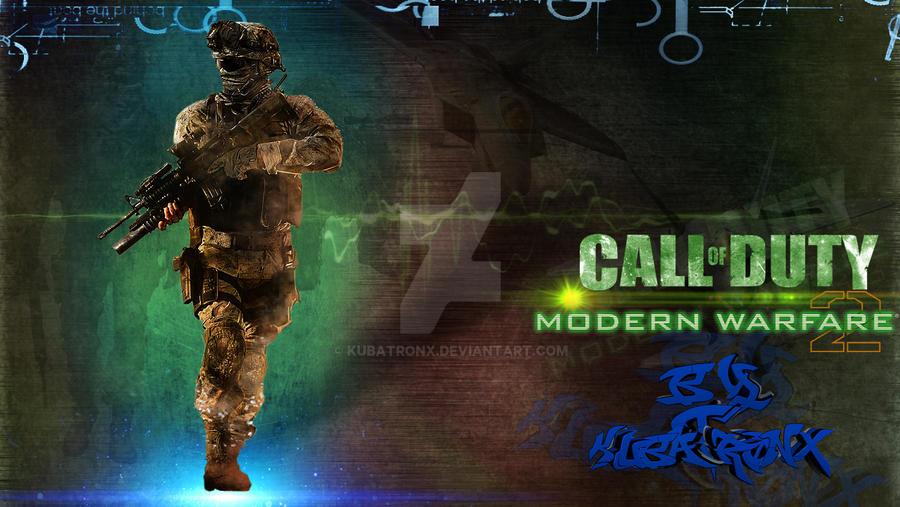 Call Of Duty Modern Warfare Wallpaper Fan Art By Kubatronx On Deviantart