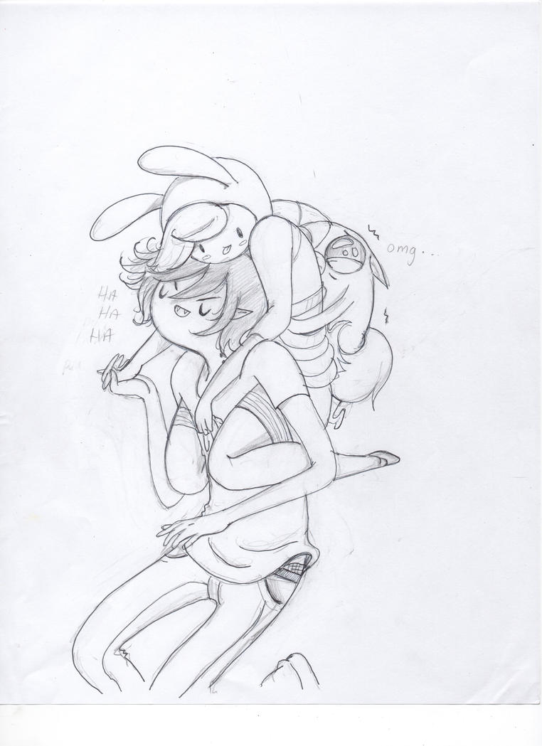 marshall and fionna by itstartswithaspark on deviantart