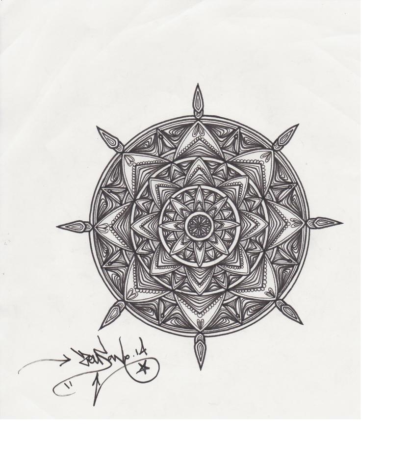 mandala 14 by lucianfraser