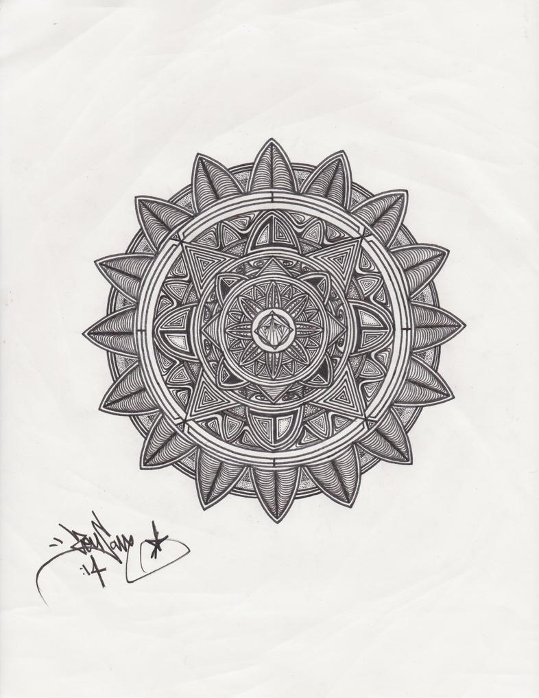mystic mandala by lucianfraser