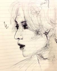 Lee Taemin by aanaru