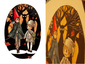 Over The Garden Wall by hadenamomo